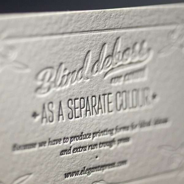 Letterpress Sample Pack  Elegante Press  Design  Letterpress Printing
