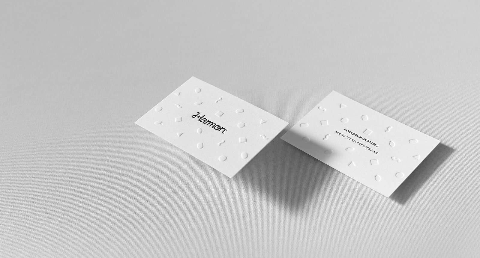 Embossed Letterpress Business Cards | ELEGANTE PRESS | Design ...