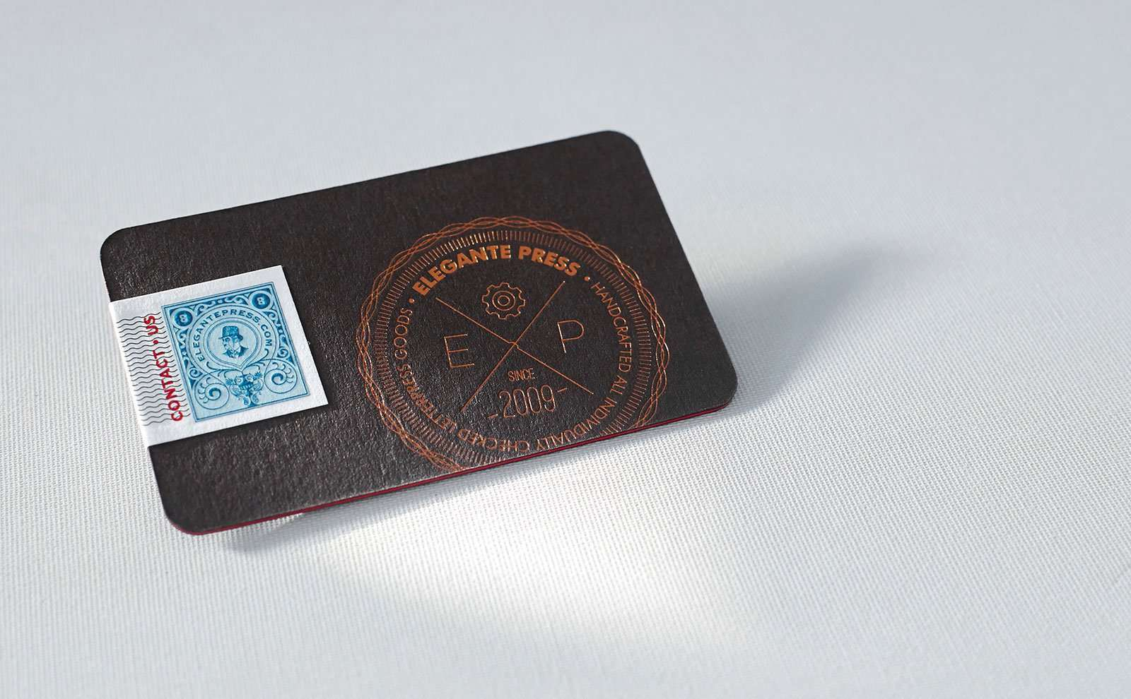 The most expensive business card we have printed yet | Elegante Press