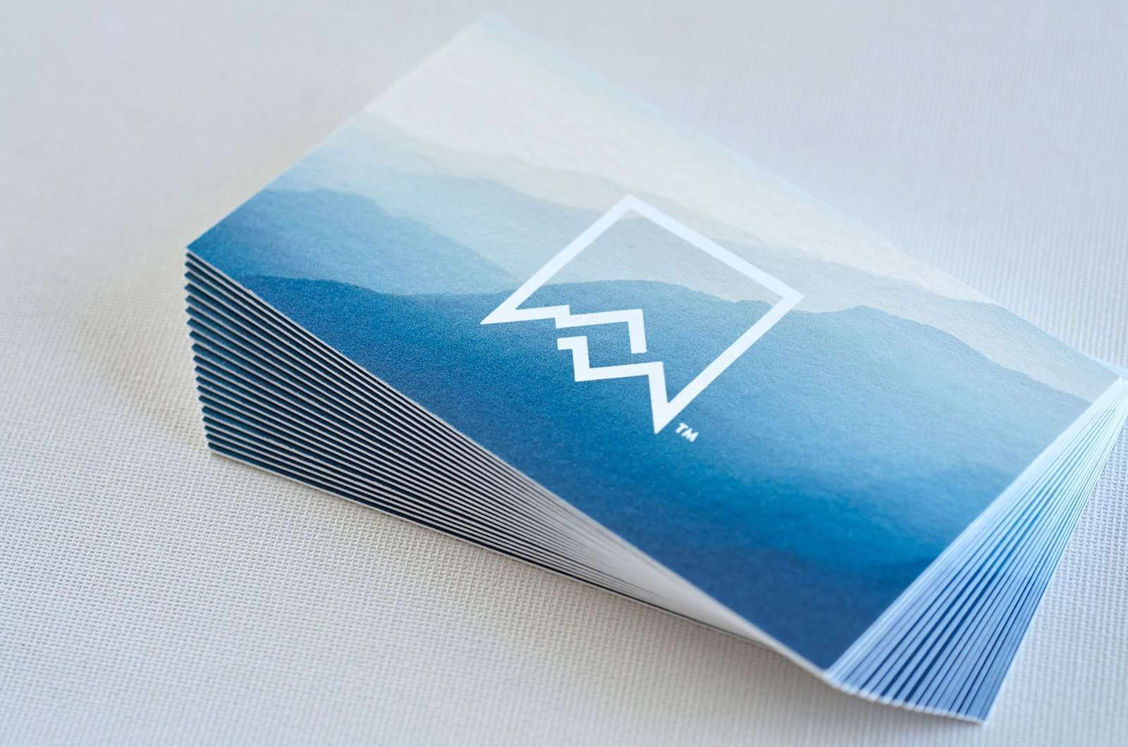 Business card with stunning background 7