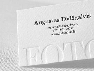 photography business cards 08 - Business Card Paper