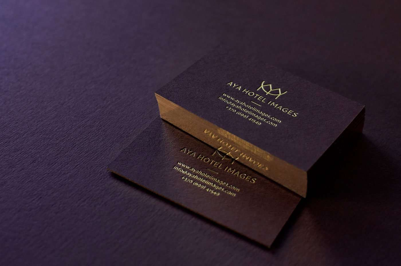 Luxury Business Cards - Free design service | Elegante Press