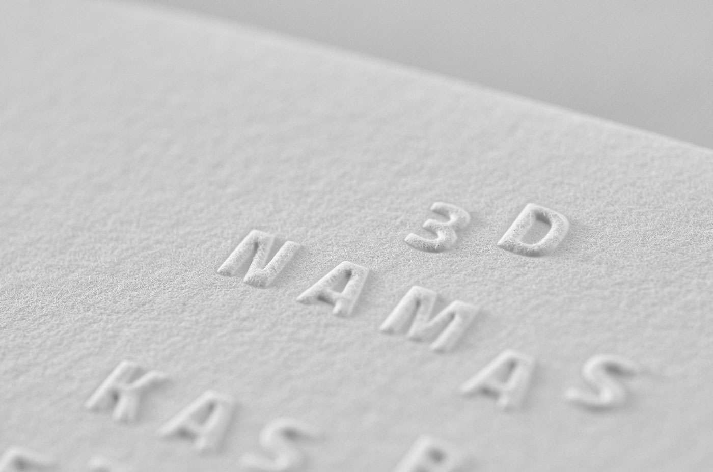 Embossed Business Christmas Cards | ELEGANTE PRESS