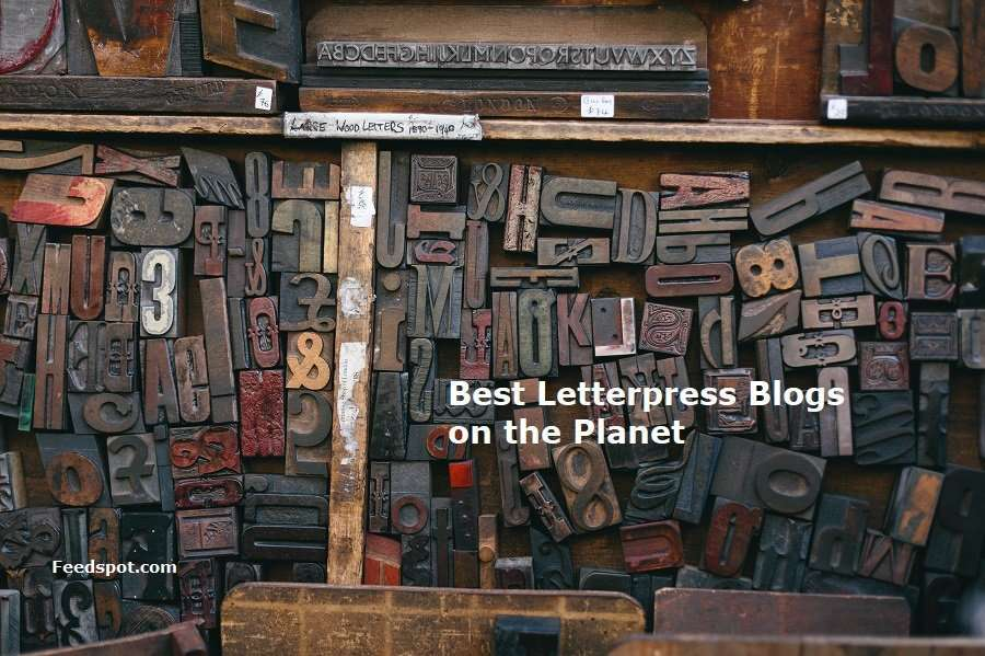 Top 40 blogs about letterpress printing