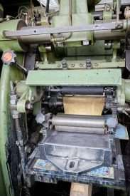 Friedrich Heim engraved printing press for sale 7